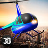City Helicopter Flight Simulator 3D Full app icon