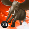 Wild Flying Elephant Simulator 3D Full app icon
