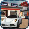Service Station Car Parking iOS Icon