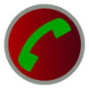 Automatic call phone or phone recording app icon