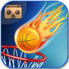 VR Basketball Shoot iOS Icon