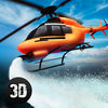 Emergency Fire Helicopter Simulator 3D Full iOS Icon