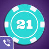 Viber Blackjack iOS Icon