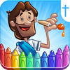Bible Coloring for Kids! iOS Icon