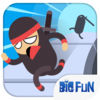 Ninja Kid: Flash Jumping app icon