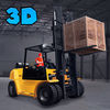 Heavy Cargo Forklift Simulator 3D Full app icon