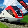 Speed Bullet Train Line Simulator Pro
