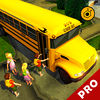 School bus driving simulator 3D pro iOS Icon