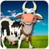 Angry Cow Simulator iOS Icon