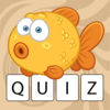 Quiz for kids: first reading app iOS icon