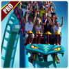 Furious Jungle Roller Coaster Pro iOS icon