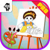 Doll Kids Coloring Book Pro