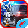 Modern Police Car Parking Simulator Pro App Icon