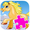 Kids Jigsaw Puzzles Games Pony Version icon
