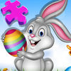 Kids Bunny Jigsaw Puzzle Easter Games icon