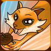 Crazy Cat Deep Forest Rush app icon