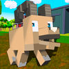Blocky Sheep Farm 3D Full App