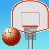 Crazy Rooftop Basketball Match app icon