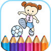 Sports Coloring Book Games for kids App