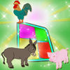 Animals In The Farm Memory Match icon