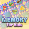 Memory for kids: fruit and vegetables icon
