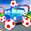 Baby Superheroes Soccer Color Car Parking App