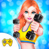 Gym Workout For Girls Game App Icon