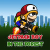 Jetpack Boy In The Forest icon