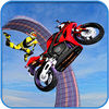 Crazy Bike On Impossible Track iOS icon