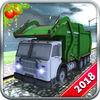 Christmas Snow Garbage Truck iOS icon