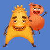 Monster School Letters iOS icon