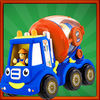 Mini Car Toon Traffic Racers iOS icon