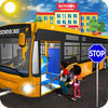 City School Bus Drive Fun iOS icon