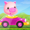 Pig Car Driving App Icon