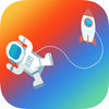Astronaut Math 2nd 3rd grade iOS icon