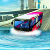 Water surfing bus simulator iOS icon