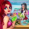 Super market Grocery Girl App Icon