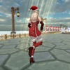 Christmas Santa Girl Run