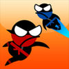 Jumping Ninja Two player iOS icon