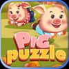 Pigs Puzzle Match App Icon