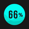 Filling: fill 66% of the level iOS icon
