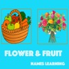 Flower & Fruit Names Learning iOS icon