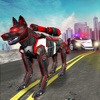 Police Robot Dog Chase App
