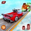 Crazy Shooting Car Stunts Sim iOS icon