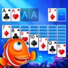 Solitaire Klondike Fish iOS icon