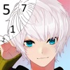 Tap Anime Color iOS icon