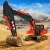 Construction Excavator Game 3d iOS icon