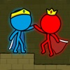 Red & Blue Stickman App Icon