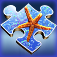 Aqua Jigsaw iOS Icon