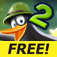 Crazy Penguin Catapult 2 FREE iOS Icon
